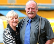 Wayne Cowley - 2014 Business Hall of Fame Inductee and wife Bev