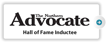 The Northern Advocate Hall of Fame Inductee